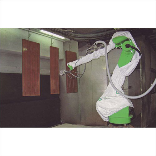 Automatic Spray Robot Coating Booth