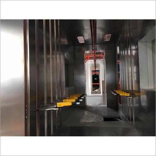 Automatic Electrostatic Powder Coating Booth