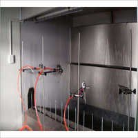 Automatic Electrostatic Liquid Spray Booth