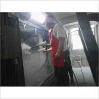 Manual Control Electrostatic Powder Spray Booth