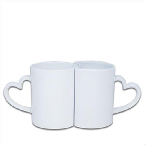 White Couple Mug