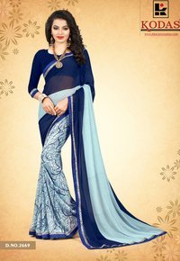 Weightless Georgette Printed Saree