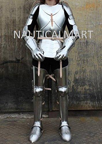 Medieval German Style Ladies Full Suit Of Armour - CUSTOM SIZE