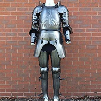 Medieval Halloween Gothic full suit of armour - CUSTOM SIZE