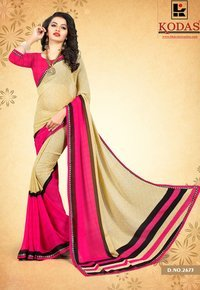 Printed Weightless Saree