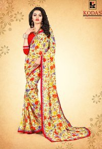 Weightless Saree With Border