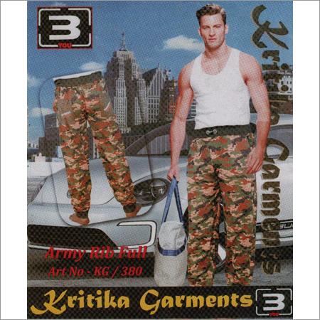 Men's Army Rib Full Pant