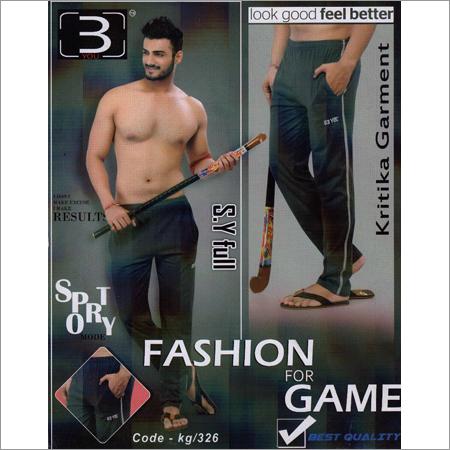 Men's Sporty Full Pant