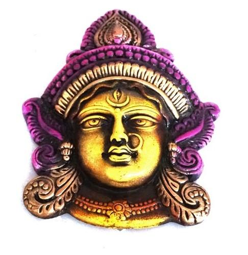 Durga Face Wall Hanging Large