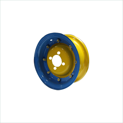Colored Bajaj Three Wheeler Wheel Rim
