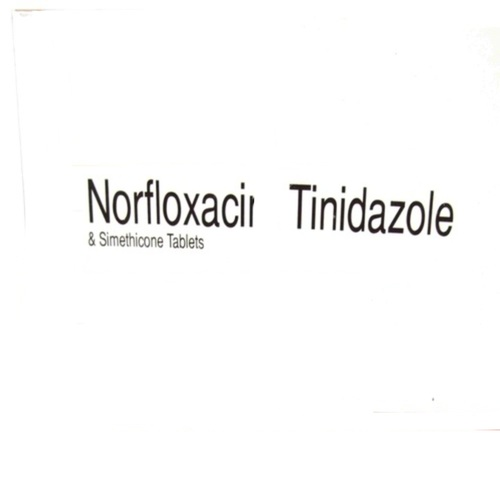 Norfloxacin Tinidazole Simethicone Tablets