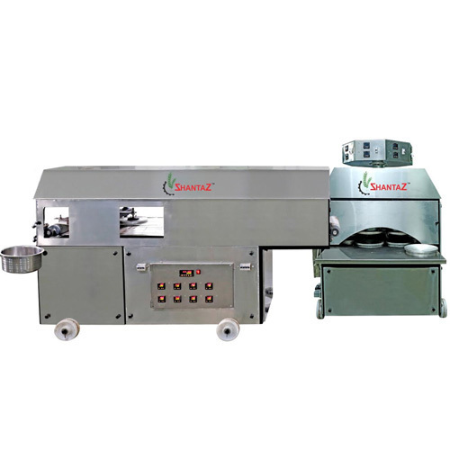 SS Semi Automatic Khakhra Making Machine