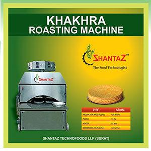 Oil Khakhra Roasting Machine