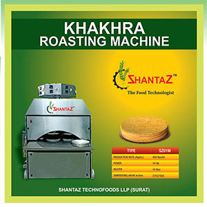 Khakhra Roasting Machine