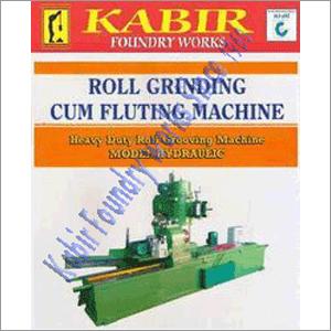 Roll Grinding Cum Fluting Machine