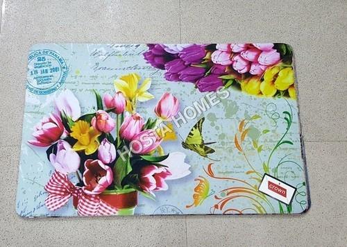 Floral Printed 3D Mat(40*60)cm