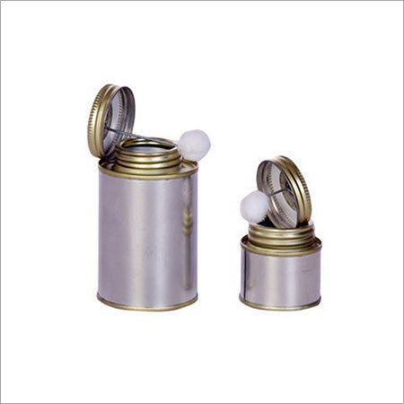 Brush In Can Tin Containers