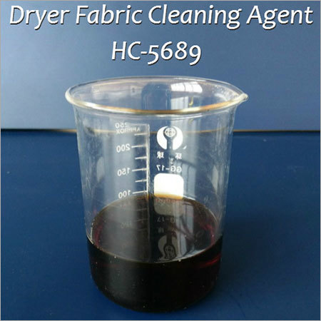 Dryer Fabric Cleaning Agent