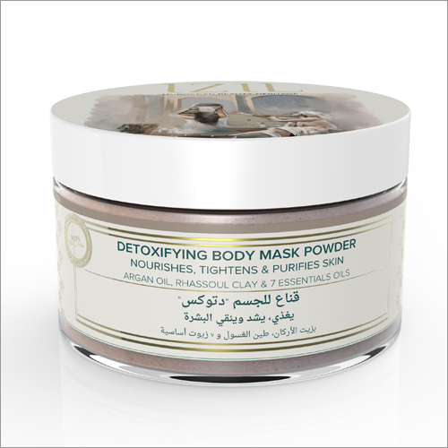 Detoxifying Body Mask Powder