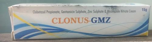 clobetazole propionate,gentamicin sulphate,zinc sulphate,micronazole nitrate cream