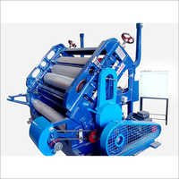 oblique corrugation machine