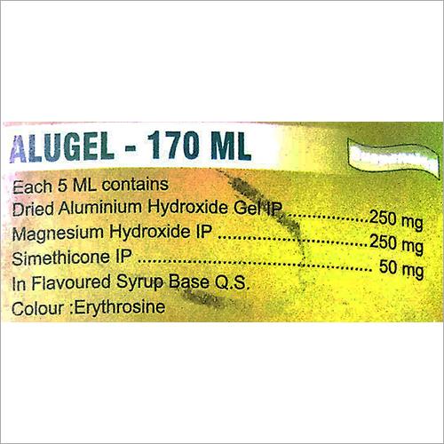 Dried Aluminium Hydroxide Syrup