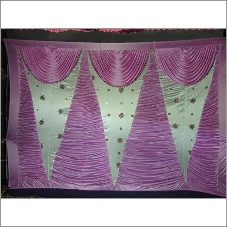 Flowery Print Tent Sidewall