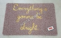 Designer Brown Fancy Pvc Rubber Door Mat