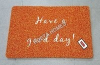 Have A Good Day Fancy Pvc Rubber Door mat