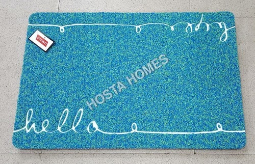 HELLO Design Fancy Pvc Rubber Door Mat