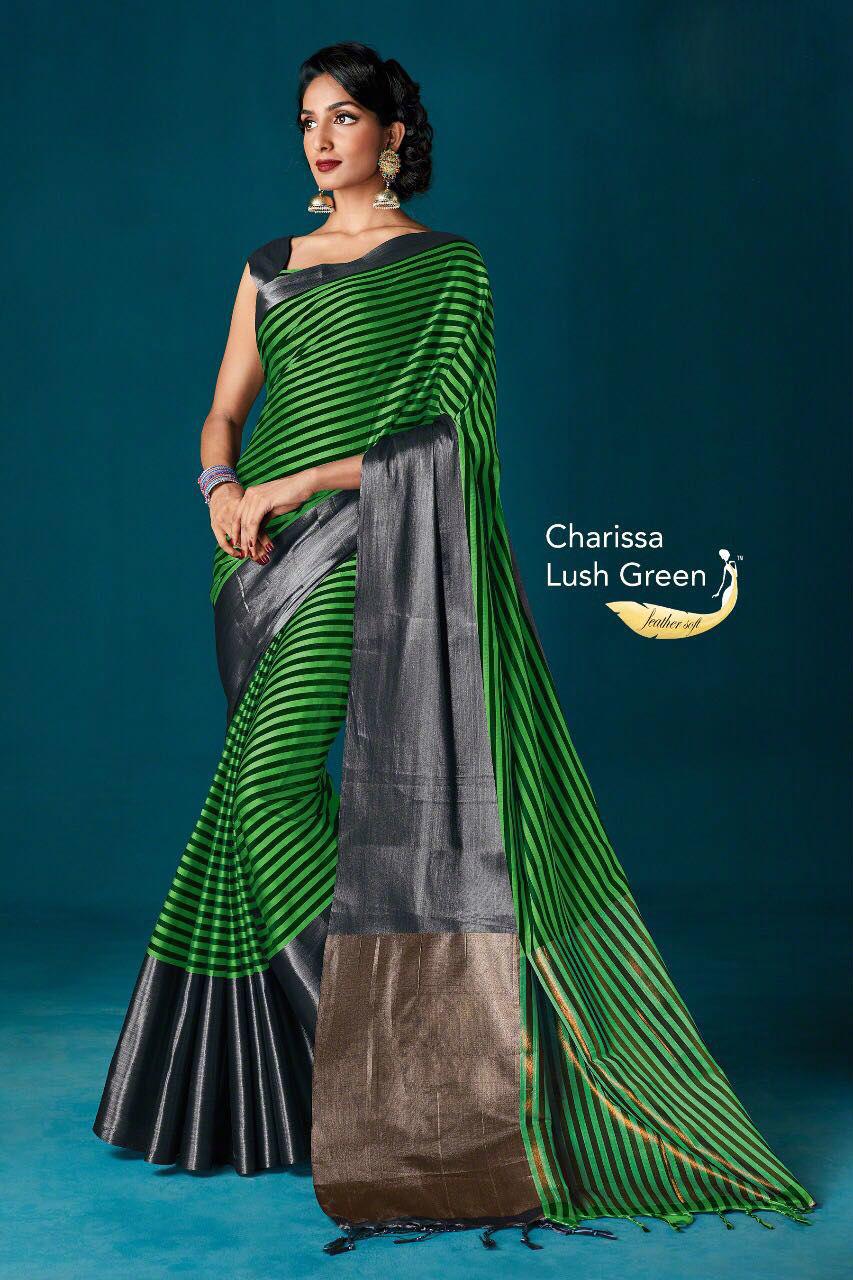 Printed Cotton Silk sarees