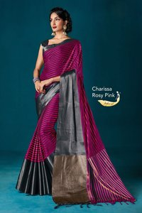 Printed Cotton Silk sarees