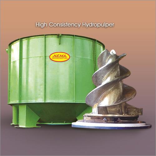 High Consistency Hydro Pulper Machine