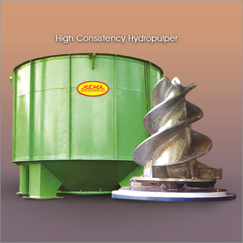 High Consistency Hydro Pulper