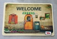 Welcome Print Pvc Mat