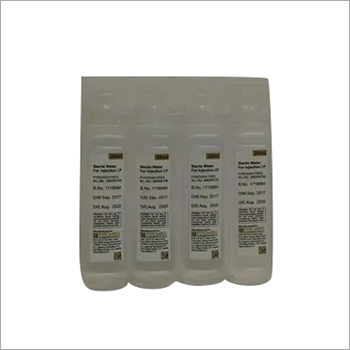 Sterile water for Injection 20ml (SWFI 20ML)
