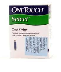 Glucose test strip