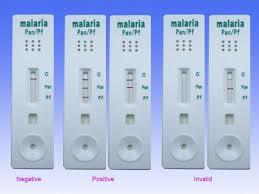 Malarial test kit