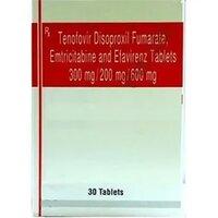 Efavirenz,Emtricitabine,Tenofovir Disoproxil