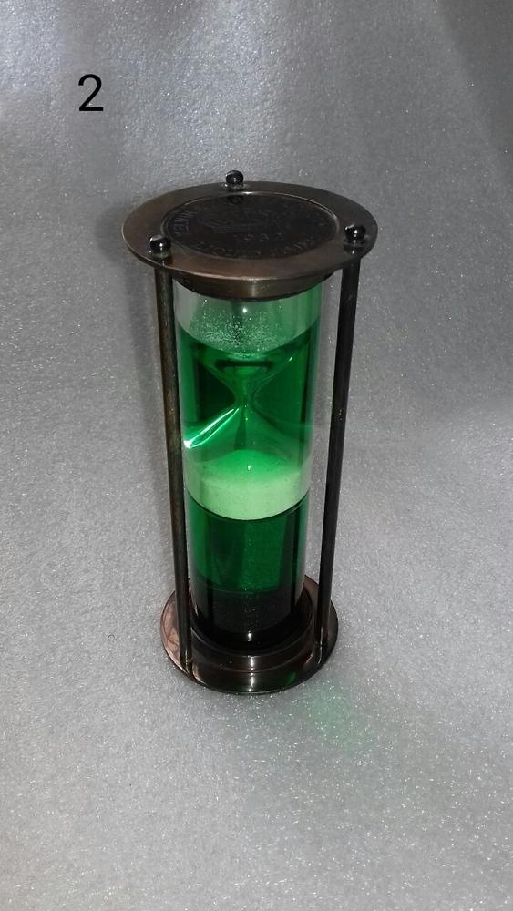 Brass Hourglass Sand Timer