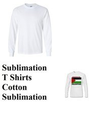 Sublimation Full Sleeve T-Shirts