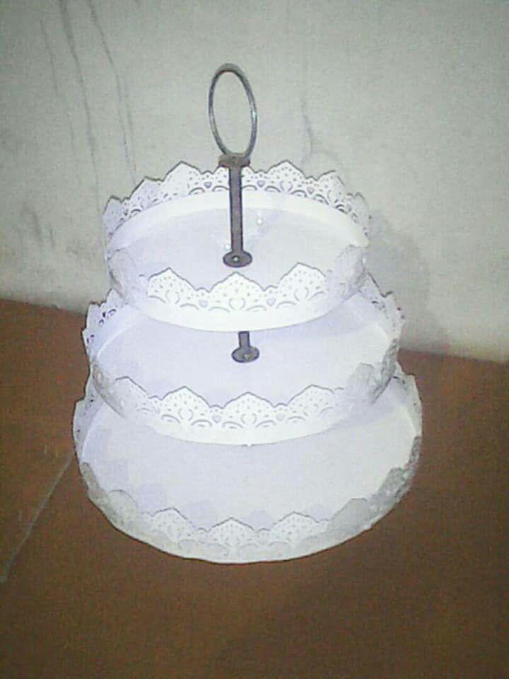 Iron Cake Stand