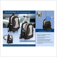 Luxury Trolley Back Pack E - 121