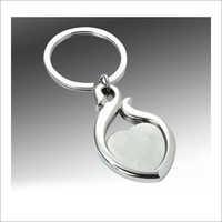 Heart Shape Metal Key Chain