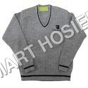 V Neck School Sweater