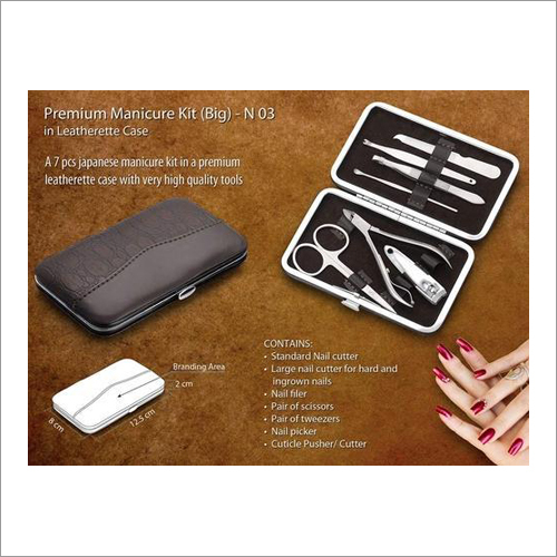 Manicure Kit in Leatherette Case