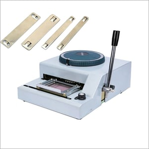 SS Tag Embossing Machine