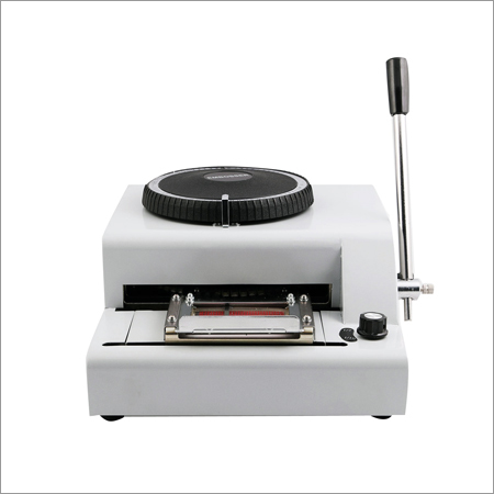 Credit Card Embossing Machine