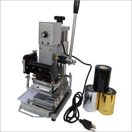 PVC Card Hot Foil Stamping Machine