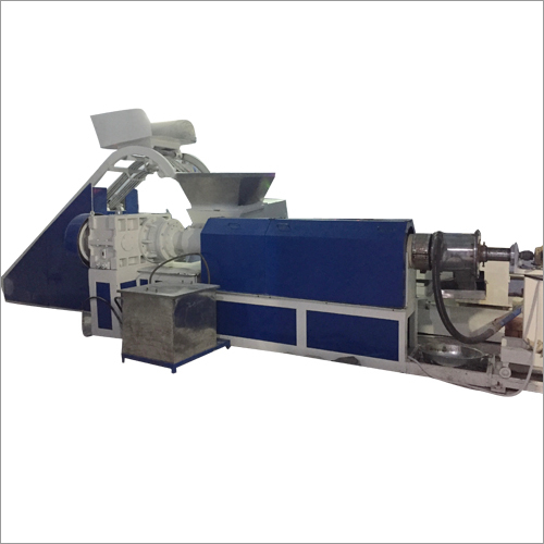 Extruder Line with Water Ring Die Face Cutter